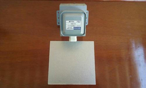 1 magnetron 2m219j mais placa de micra nova para microond