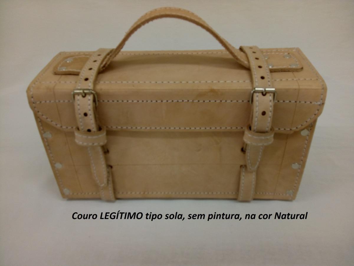b1fa5e2c32 1 Maleta Em Couro P  Ferramentas N. 01- Couro Legítimo - R  115