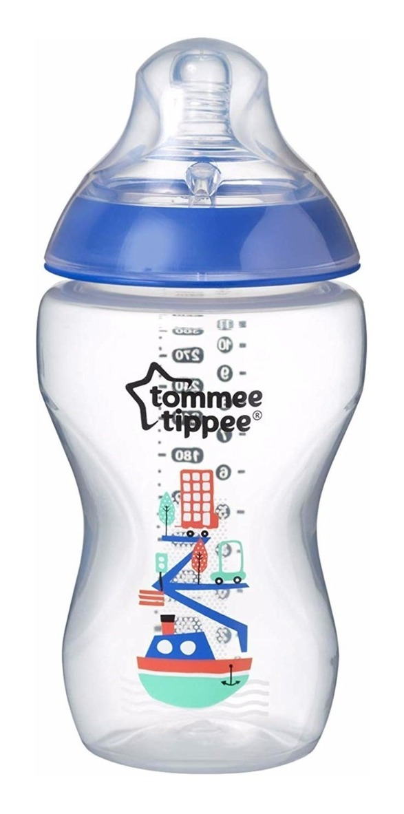 Tommee Tippee Closer to Nature 2 x 340ml Bottles 3m+