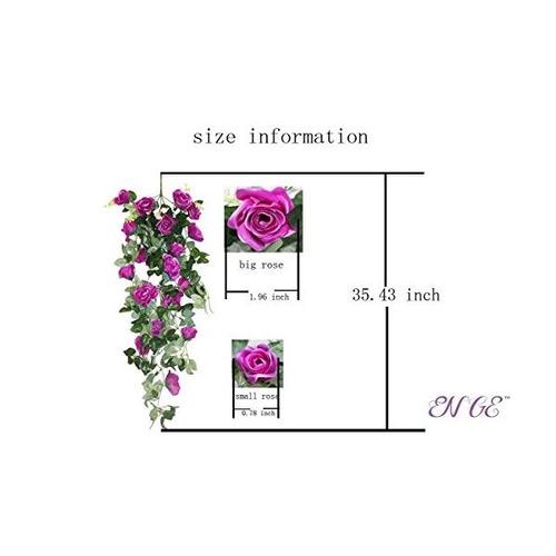 1 manojo jardín de decoración de la pared exterior atificial