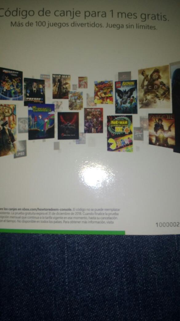 1 Mes Game Pass Xbox One 110 00 En Mercado Libre