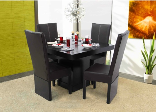 1 mesa de madera para comedor de 6 personas 1 for Comedor 6 personas