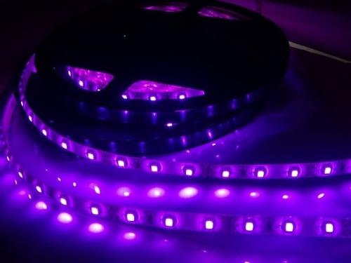 Lampara Luz Negra 50w Fluorescente Led Uv Fiesta Neon Violet