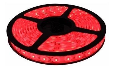 1 metro tira led 60 led/mt exterior 3528 rojo blanco verde