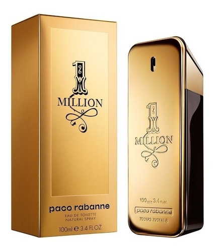 1 million paco rabanne edt - perfume masculino 100ml