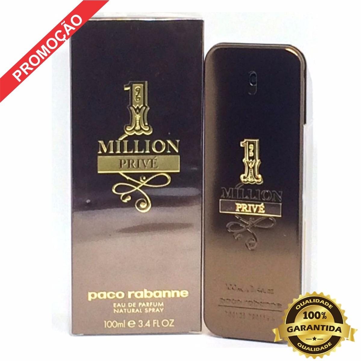 99c154436b 1 million privé 100 ml - eau de parfum lacrado 100% original. Carregando  zoom.