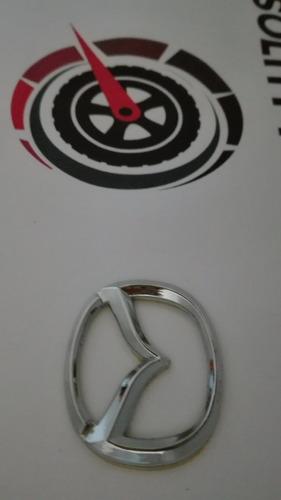 1 mini emblema mazda universal timon tapas rin 5 cm x 4 cm