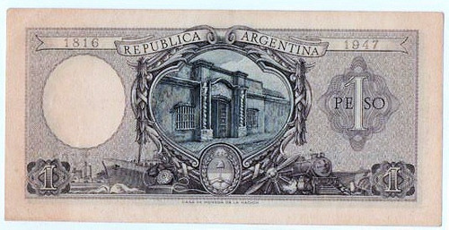 1 $ m/n año 1952 bottero 1909 m/b+ cd 4204