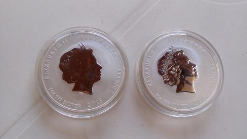 1 moeda proof de prata pura 999 1 oz 31.g 2015