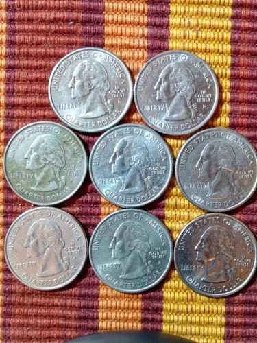 1 moeda quarter dollar states (estado a escolher) - lfcosta