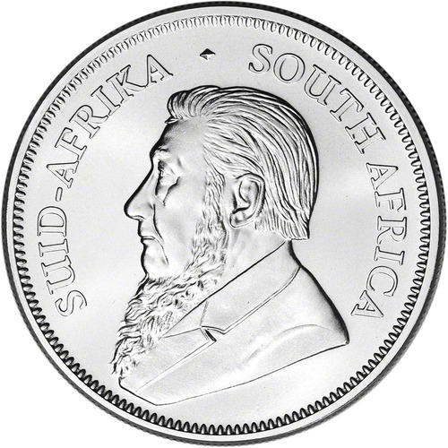 1 moneda onza de plata fina 999 sudáfrica krugerrand 2019 sc
