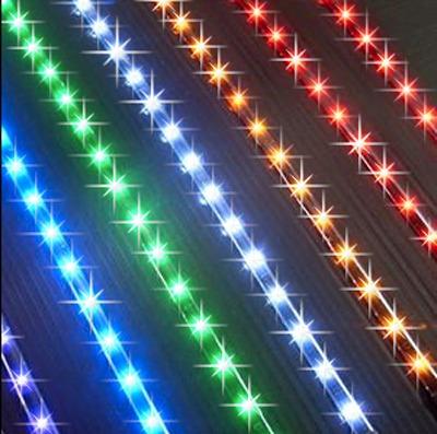 1 mt tira led 60 led por mt p/exterior cinta adhesiva