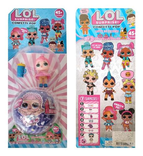 1 muñeca lol surprise mas 1 huevo o capsula sorpresa muñecas