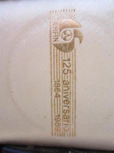 1 onza plata de colección rara santander 125 aniversario