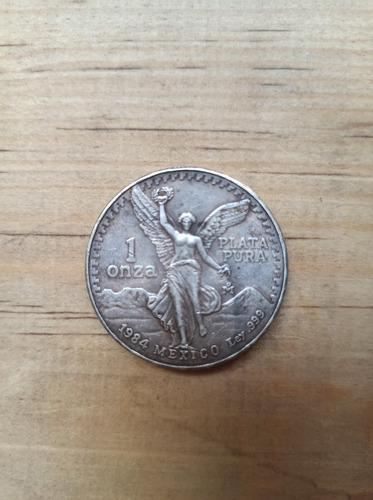 1 oz de plata pura 1984