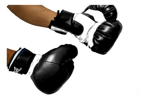 1 par de guantes de boxeo negro