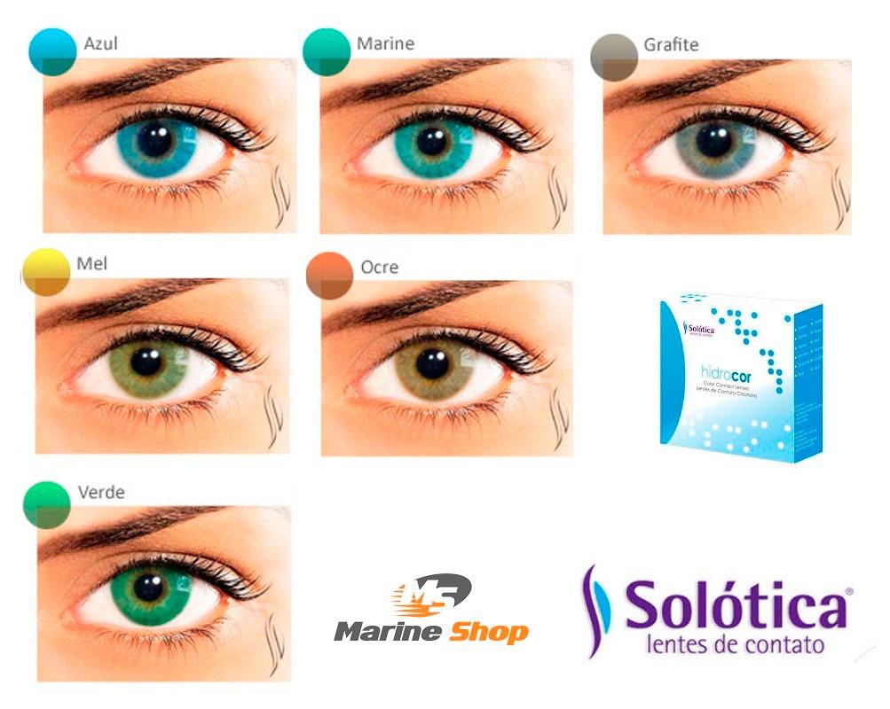 1 par lente contato hidrocor sem borda anual +mochila brinde. Carregando  zoom. 69739775a7