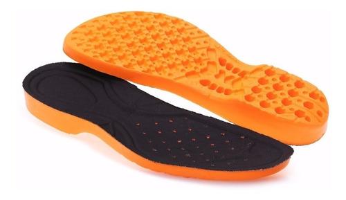 1 par palmilha anatômica gel em pu, botas adventure 118