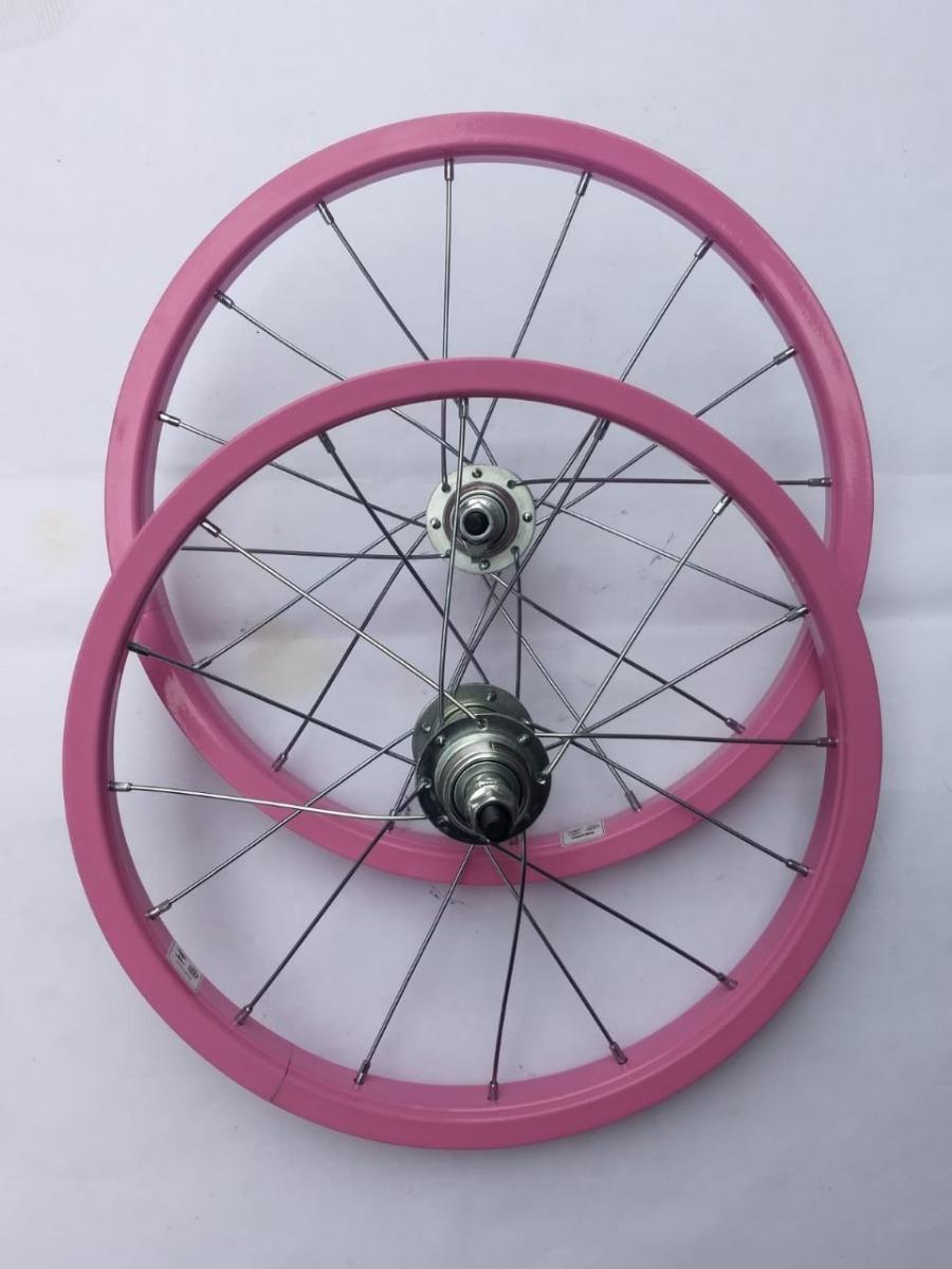 2a5fdd499 1 par roda aro 16 bike infantil criança par bicicleta. Carregando zoom.