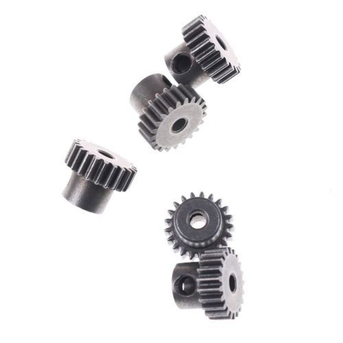1 pc rc hsp 11181 motor gear(21t) metal para hsp 1:10 coches