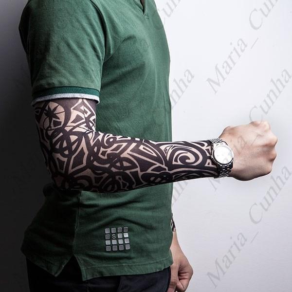 1 pe a manga tatuagem falsa fake tattoo r 932 r 19 90 - Mangas de tattoo ...
