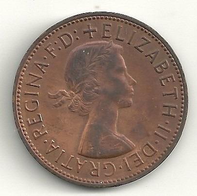 1 penny 1967 - inglaterra - elizabeth i i