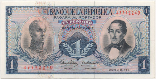 1 peso 1964