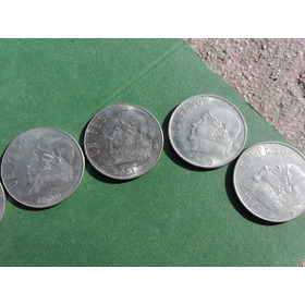 1 Peso 1970 Al 1983 Completo Todo Por Un Precio. Paquete
