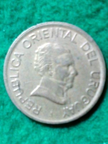 1 peso. uruguay. 1998