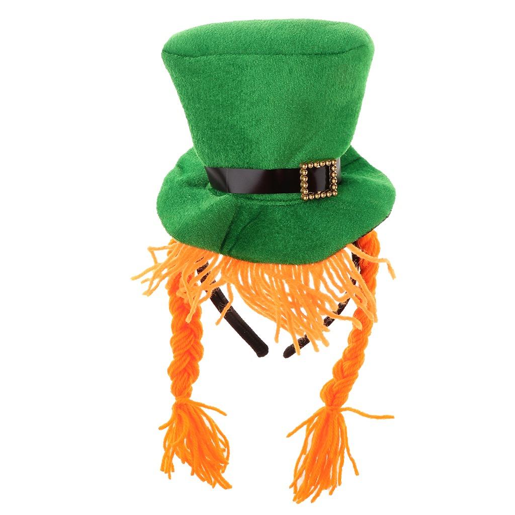 1 pieza diadema con forma de sombrero irlandés irish hat s. Cargando zoom. 31a620fe1dd