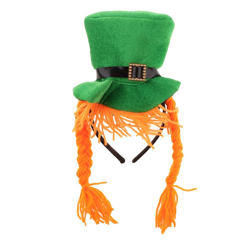 1 Pieza Diadema Con Forma De Sombrero Irlandés Irish Hat S ... d03a89ee03e