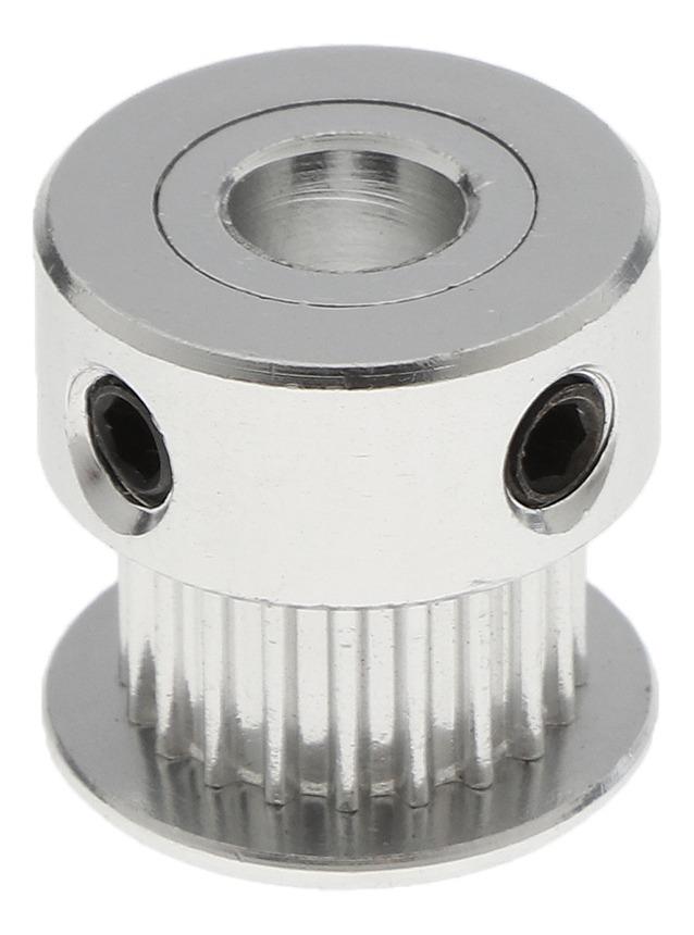 1 Pieza Rueda Dentada de Acero Inoxidable 20 D/íametro para Ancho Cintur/ón 6 mm Plateado