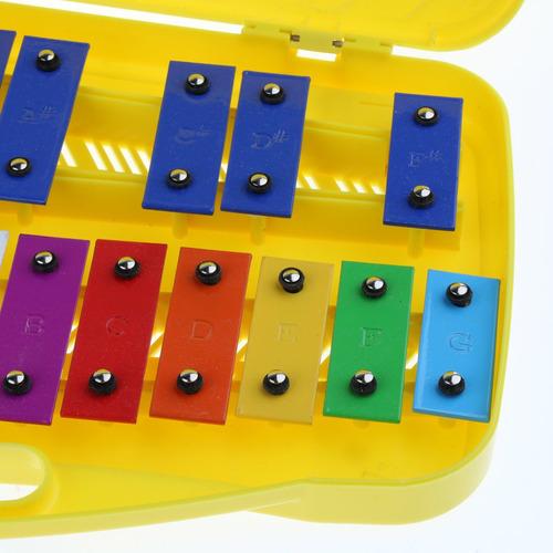 1 pieza xilóofno con mazos placa de aluminio para niños