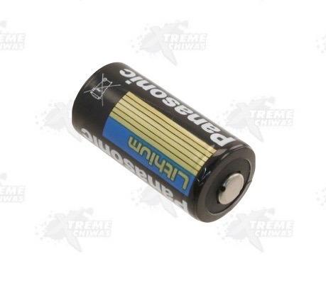 1 pila bateria cr123a 3v panasonic gotcha xtreme