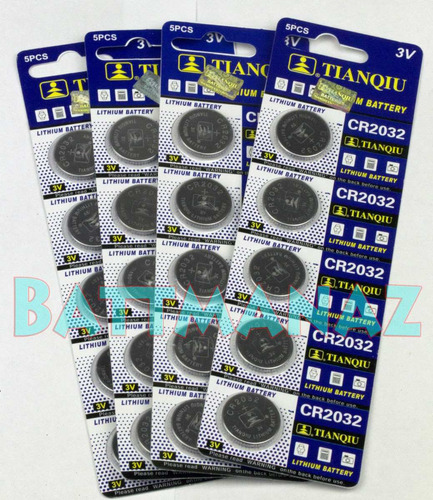1 pila cmos cr2032 latop board litio f700 dv2000 dv6000 3v