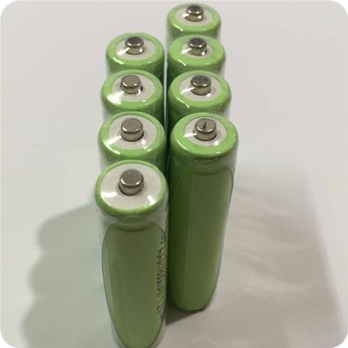 1 pilas recargables aaa - 1.2v - 1800 mah - pila recargable