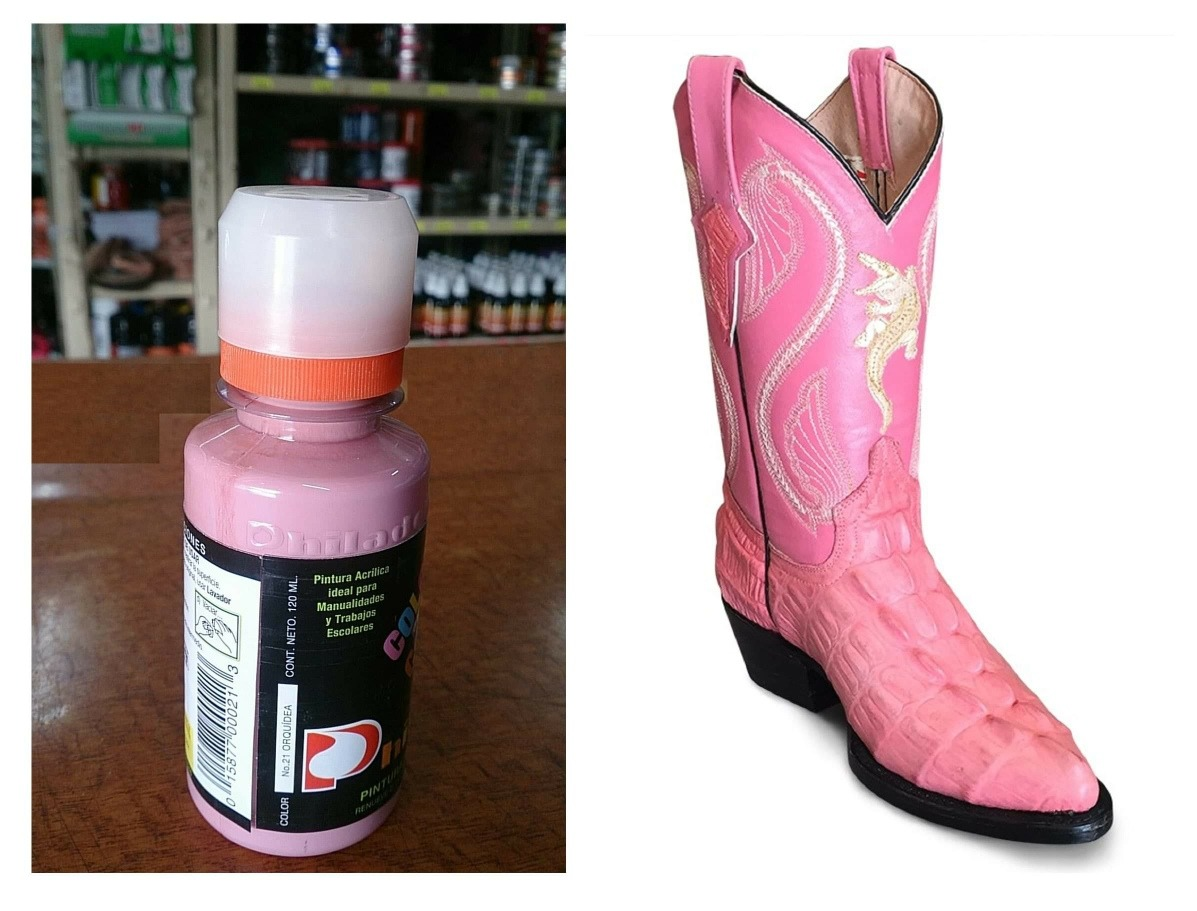 e871ce14 1 pintura para zapatos piel vinyl plastico 120ml orquidea. Cargando zoom.