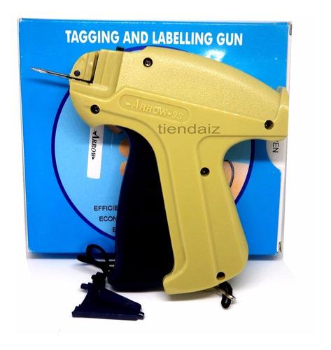 1 pistola flechadora etiquetas aguja pesado + 5mil marcador