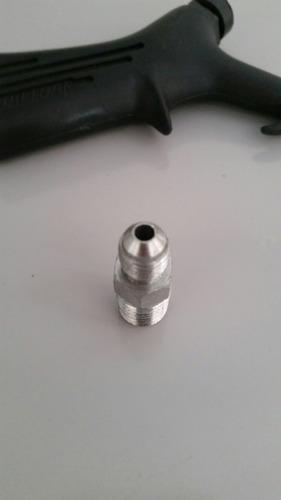 1 pistola para ar com conexão rosca 1/4 sae p compressores