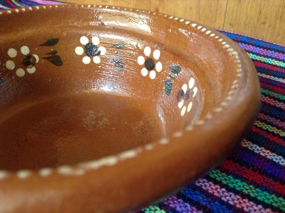 1 plato barro artesanal primera calidad para pancita pozole. Cargando zoom. 0f9527c6e1d0