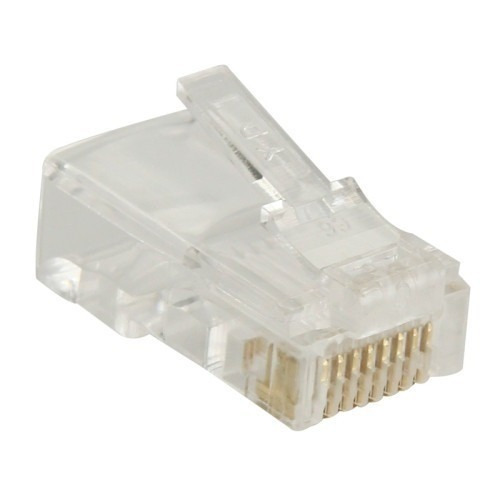 1 plug conectore rj45 cable red ethernet utp categoria 5