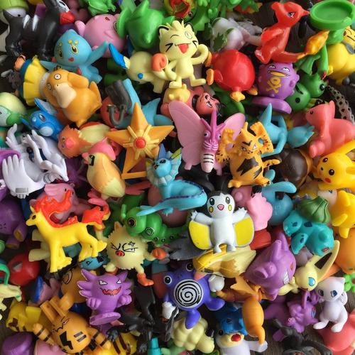 1 pokebola (sortido)+24 pokémons sem repetidos pikachu a006
