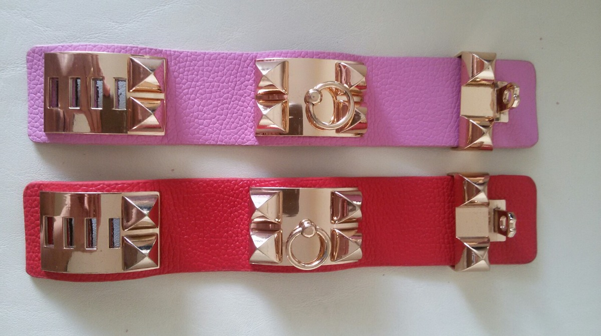 a855548e7bd 1 Pulseira Bracelete Collier De Chien Hermès Inspired - R  167