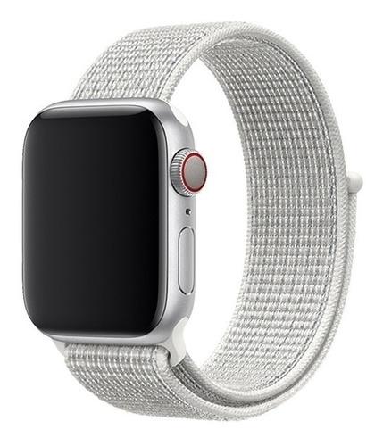 1 pulseira nylon loop sport apple watch + 1 pelicula 1 2 3 4