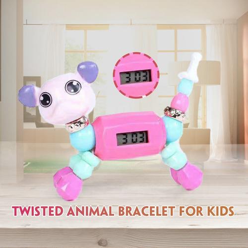 1 pulsera coleccionable de animales trenzados con mascotas.