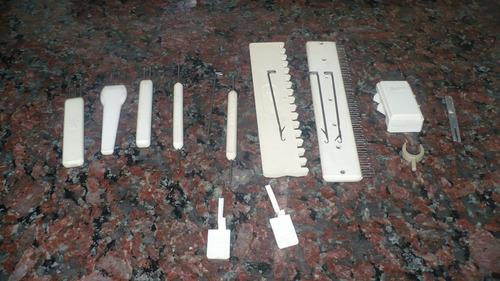 1 punzon knittax  1 ; 2 o 3 agujas. accesorio agujas