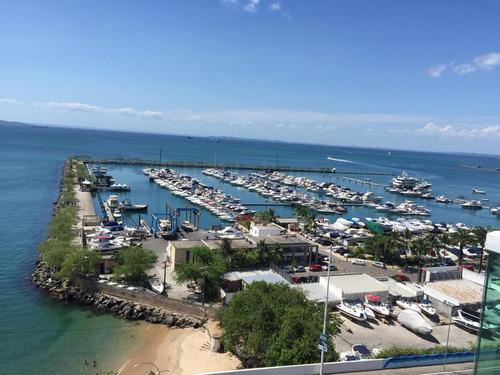 1 quarto, venda- vista mar - cloc marina residence