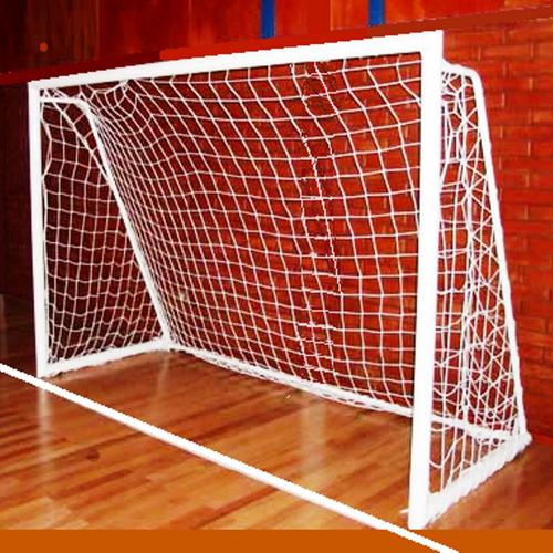 1 red arco handball 3x2m polietileno hilo 3mm reforzada 10cm