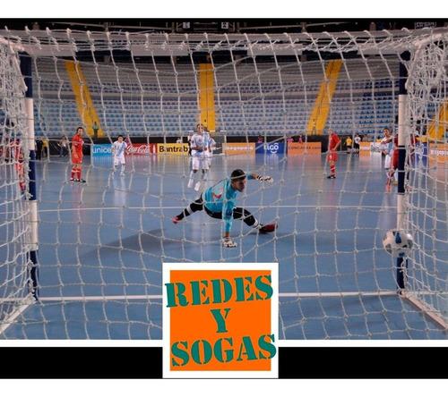 1 red arco papi futbol salon futsal handball 3x2m cajon 50cm