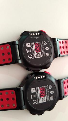 1 relógios gps garmin forerunner 220 não funciona